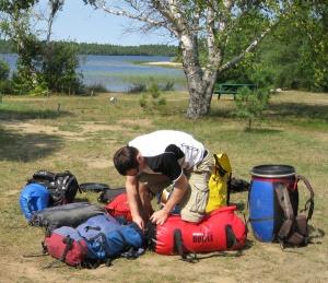 Les sacs étanches, nos nouveaux amis.